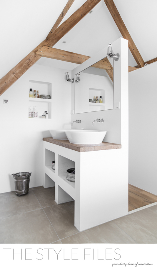 Steenstrips In Badkamer ~ idee?n voor je badkamer indeling  Wonen & Inrichting