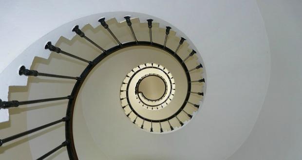Slakvormige trap