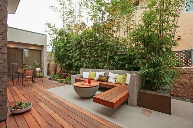 Tuininrichting in kleine tuinen inspirerende voorbeelden en tips wonen inrichting for Zen terras layouts