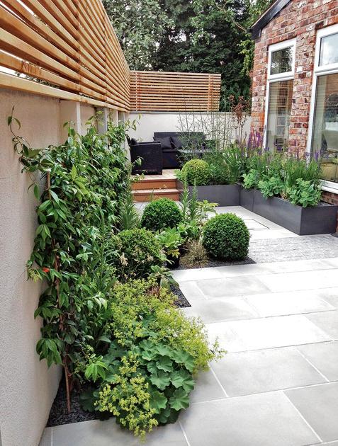 Niveauverschillen in de tuin zorgen voor meer ruimtelijkheid