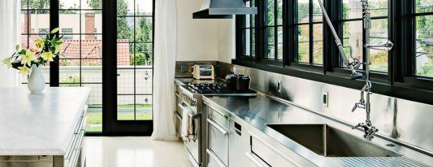 Metaal in een industri le keuken 3x inspiratie wonen inrichting - Keuken industriele loft ...