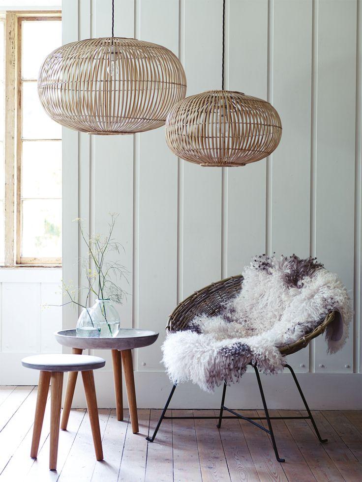 Design verlichting met bamboe