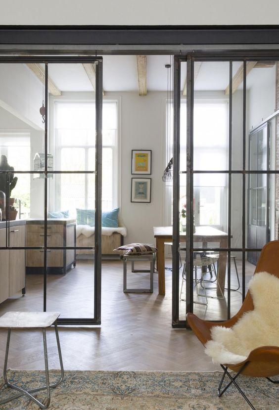 Een flinke dosis design schuifdeuren inspiratie wonen for Schuifdeuren woonkamer