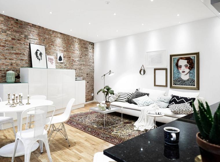 6x inspiratie voor wanden in de woonkamer en keuken  Wonen ...