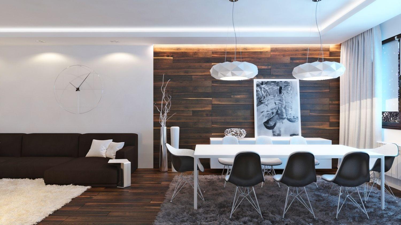 6x inspiratie voor wanden in de woonkamer en keuken for Wand woonkamer