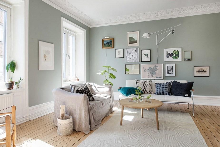 Uitgelezene 6x inspiratie voor wanden in de woonkamer en keuken | Wonen YK-76