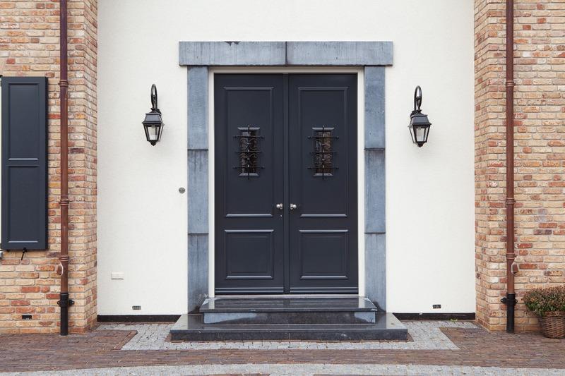 een dubbele voordeur