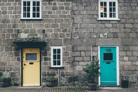 stijlvolle voordeur