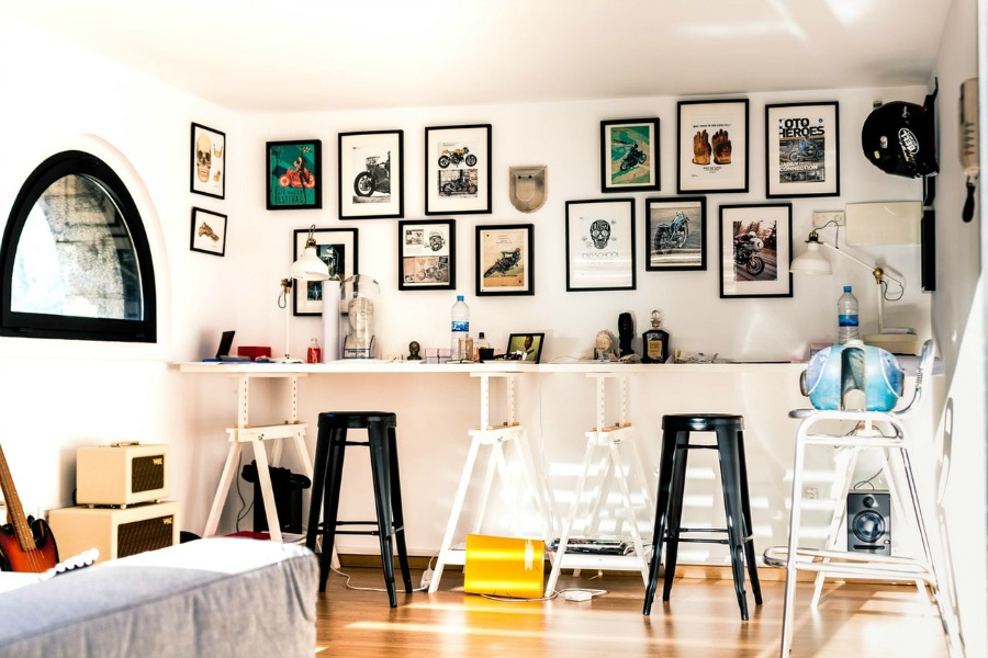 Inspiratie voor een ruimere kamer wonen inrichting
