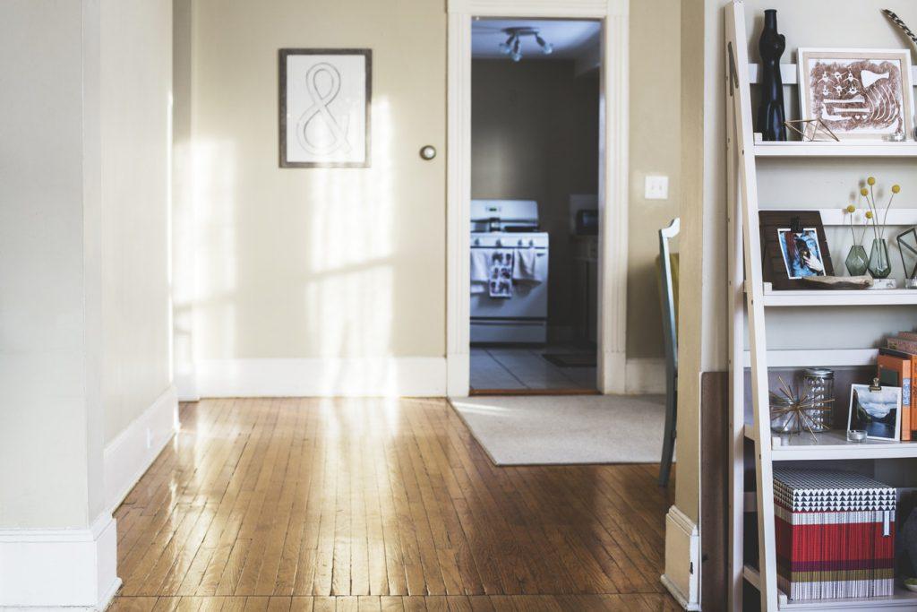 ruw houten vloer