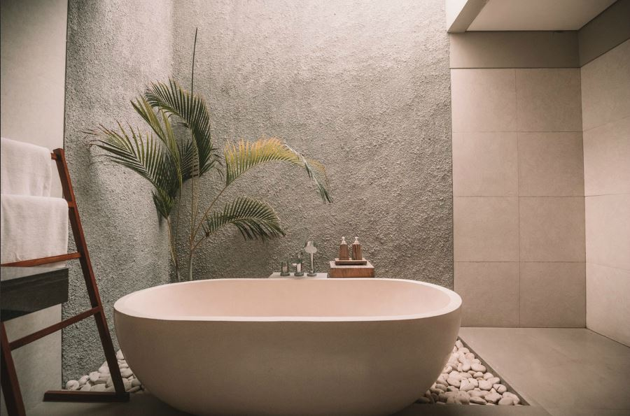 Foto Plexiglas Badkamer : Je badkamer sfeervol inrichten met schilderijen; 3 ideeën wonen