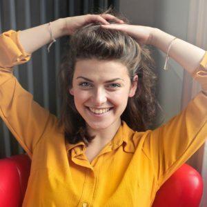 Sarah Visser de eigenaresse van Wonen en Inrichting