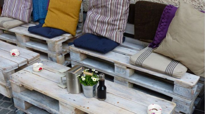 DIY-tips: dit kun je doen met pallets