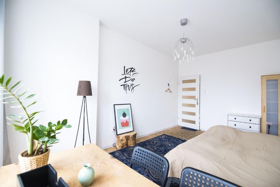 Meerdere ruimtes maken van één studio
